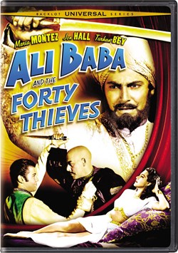 Ali Baba and the Forty Thieves [DVD]