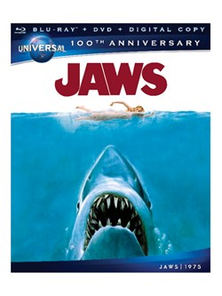 Jaws (with Blu-ray) [DVD]