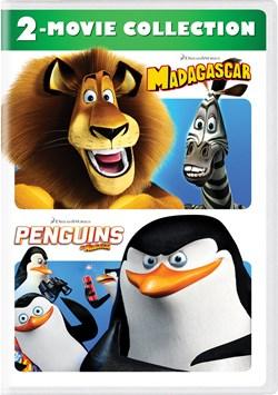 Madagascar/Penguins of Madagascar [DVD]