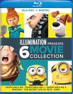 Despicable Me/Despicable Me 2/Despicable Me 3/Minions/... [Blu-ray]
