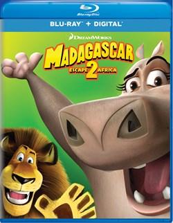 Madagascar: Escape 2 Africa [Blu-ray]