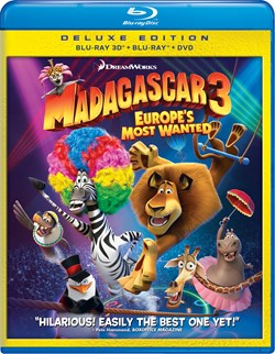 Madagascar 3 - Europe's Most Wanted (with DVD) [Blu-ray]