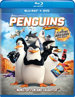 Penguins of Madagascar (with DVD) [Blu-ray]