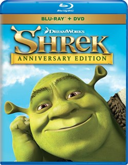 Shrek (Anniversary Edition + DVD) [Blu-ray]