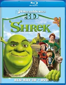 Shrek 3D (DVD + Digital) [Blu-ray]