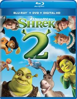 Shrek 2 (DVD + Digital) [Blu-ray]