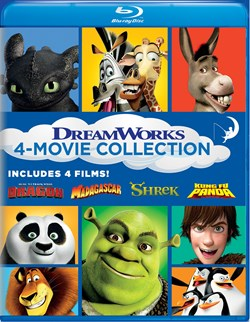 How to Train Your Dragon/Madagascar/Shrek/Kung Fu Panda [Blu-ray]