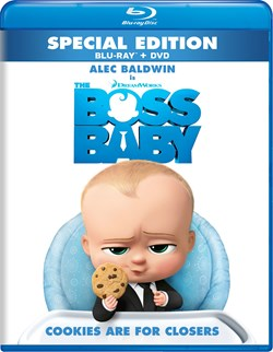 The Boss Baby (with DVD) [Blu-ray]