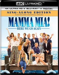Mamma Mia! Here We Go Again (4K Ultra HD (Sing-Along Edition)) [UHD]