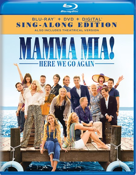 Mamma Mia! Here We Go Again (with DVD (Sing-Along Edition)) [Blu-ray]