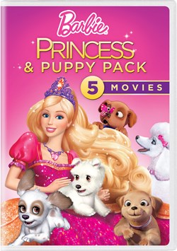 Barbie Princess & Puppy Collection (Box Set) [DVD]