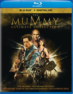 The Mummy Ultimate Collection (Box Set) [Blu-ray]