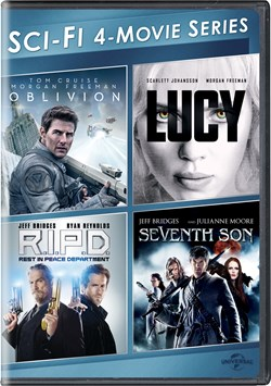 Oblivion/Lucy/R.I.P.D./Seventh Son [DVD]