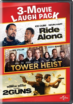 Ride Along/Tower Heist/2 Guns [DVD]