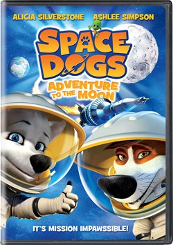 Space Dogs - Adventure to the Moon [DVD]