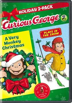 Curious George: A Very Monkey Christmas/Plays in the Snow [DVD]