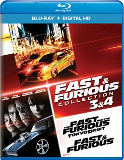 Fast & Furious Collection: 3 & 4 [Blu-ray]