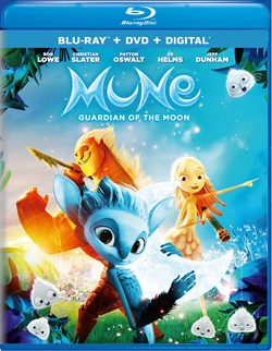 Mune: The Guardian of the Moon (with DVD) [Blu-ray]