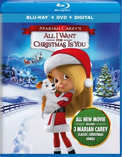 Mariah Carey's All I Want for Christmas Is You (DVD + Digital) [Blu-ray]