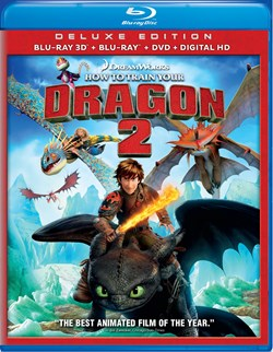 How to Train Your Dragon 2 3D (Deluxe Edition) [Blu-ray]