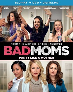 Bad Moms (with DVD) [Blu-ray]