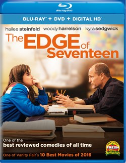 The Edge of Seventeen (DVD + Digital) [Blu-ray]