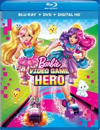 Barbie Video Game Hero (DVD + Digital) [Blu-ray]