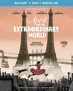 April and the Extraordinary World (DVD + Digital) [Blu-ray]