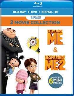 Despicable Me/Despicable Me 2 (with DVD) [Blu-ray]