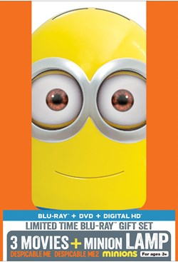Despicable Me 1-3 (with DVD) [Blu-ray]