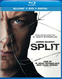 Split (with DVD) [Blu-ray]