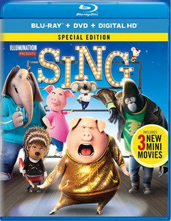 Sing (Special Edition DVD + Digital) [Blu-ray]
