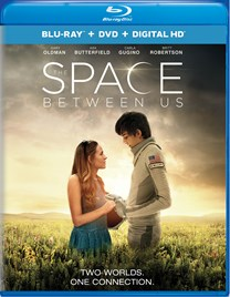The Space Between Us (DVD + Digital) [Blu-ray]