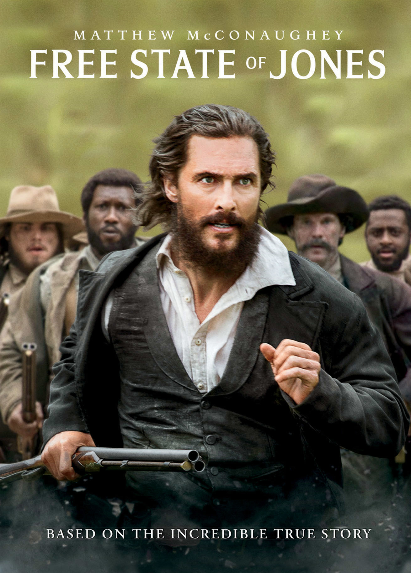 Free State of Jones [DVD]