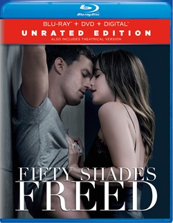 Fifty Shades Freed (Unrated Edition DVD + Digital) [Blu-ray]