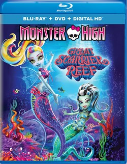 Monster High: Great Scarrier Reef (with DVD) [Blu-ray]