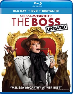 The Boss (with DVD) [Blu-ray]