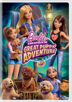 Barbie and Her Sisters in the Great Puppy Adventure [DVD]