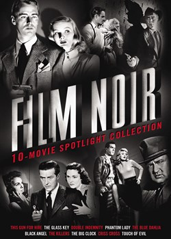 Film Noir 10-Movie Spotlight Collection (Box Set) [DVD]