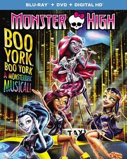 Monster High: Boo York! Boo York! (with DVD) [Blu-ray]