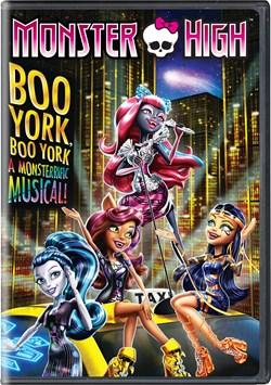 Monster High: Boo York! Boo York! [DVD]