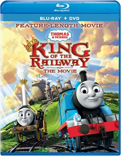Thomas & Friends: King of the Railway - The Movie (with DVD) [Blu-ray]