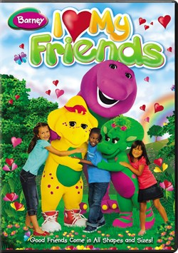 Barney: I Love My Friends [DVD]