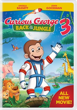 Curious George 3 - Back to the Jungle [DVD]