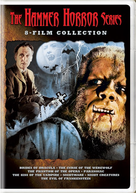 The Hammer Horror Series 8-Film Collection (Box Set) [DVD]