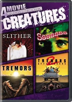 4-Movie Midnight Marathon: Creatures [DVD]