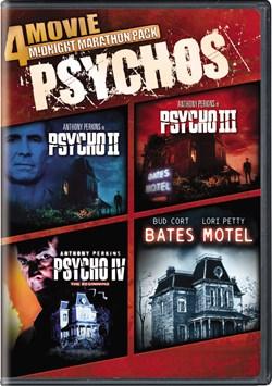 4-Movie Midnight Marathon: Psychos [DVD]