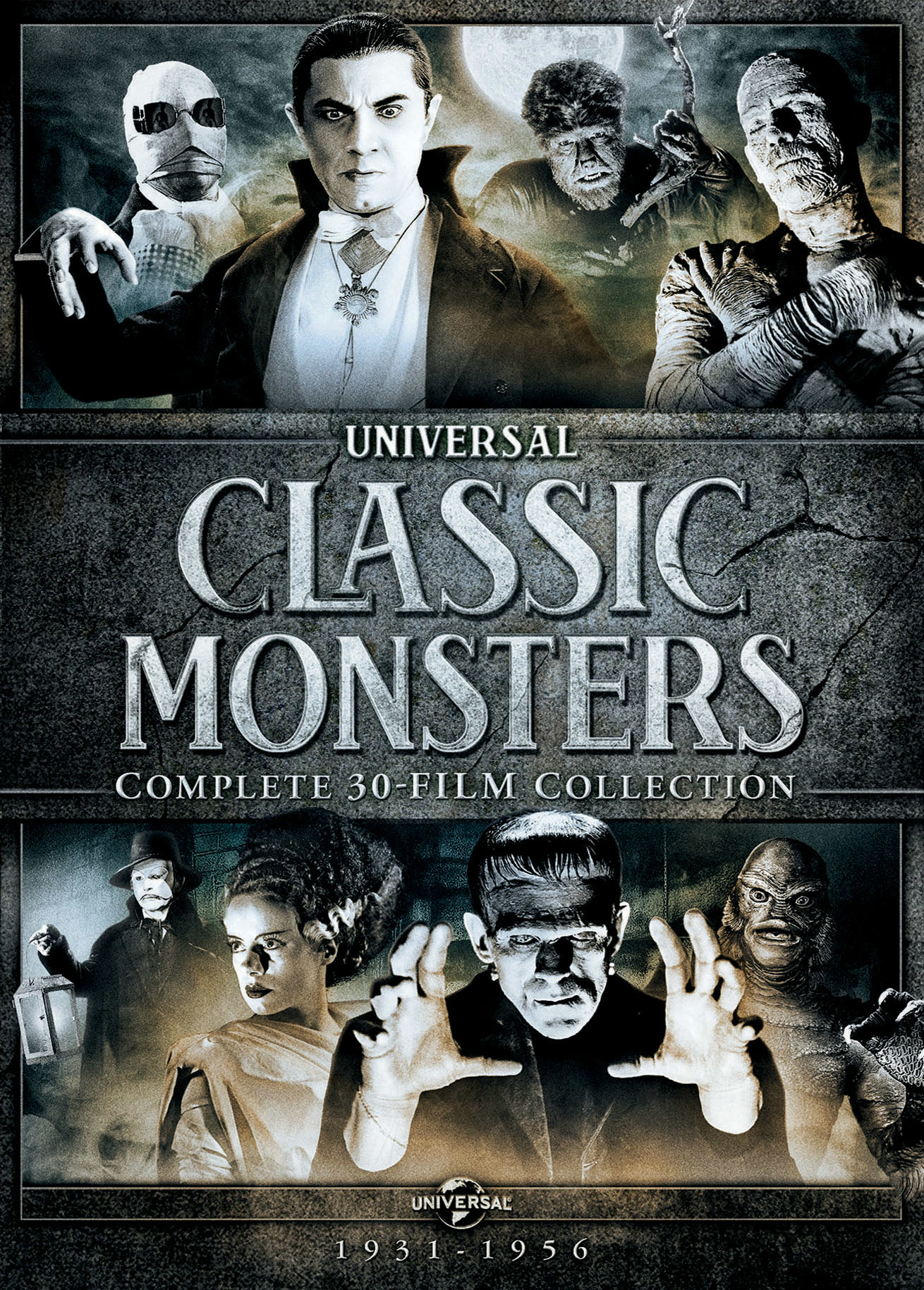 Universal Classic Monsters: Complete 30-Film Collection (Box Set) [DVD]