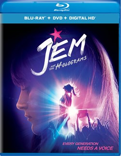 Jem and the Holograms (with DVD) [Blu-ray]