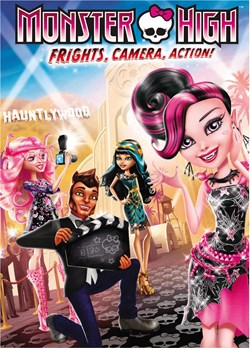 Monster High: Frights, Camera, Action! [DVD]